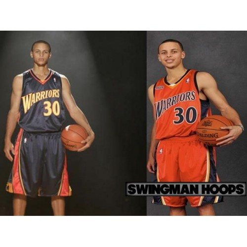 Stephen Curry Golden State Warriors Rookie Season Jerseys