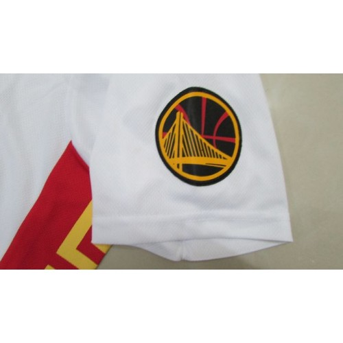 4541d10345c 2017 Golden State Warriors Chinese New Year Sleeved Jersey