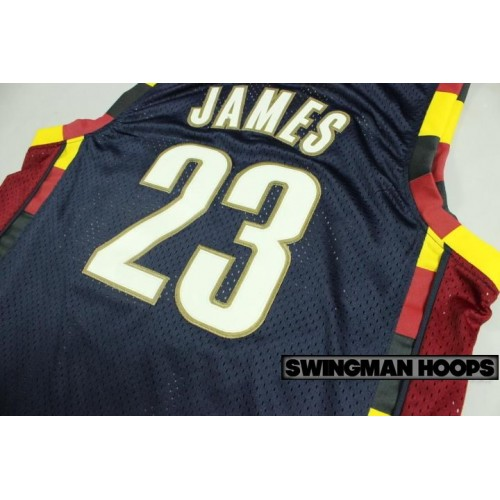 James Cleveland Cavaliers 2003 Classic Mesh Jerseys