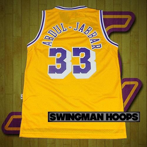 ... Purple Hardwood Classics Swingman Jersey Kareem Abdul-Jabbar Los  Angeles Lakers Hardwood Classics Jerseys adidas 33 ... 5c183de04