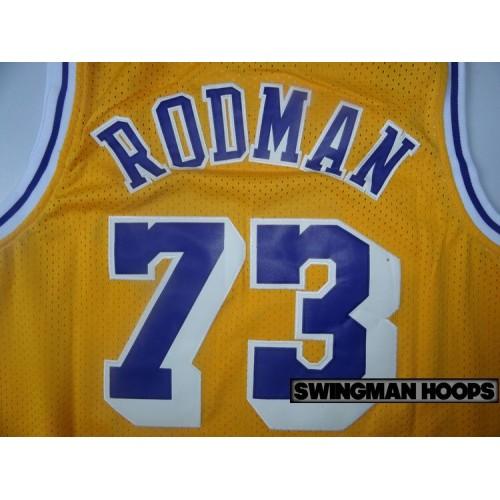156b8358a ... Dennis Rodman Los Angeles Lakers Hardwood Classics Jerseys Dennis  Rodman 73 ...
