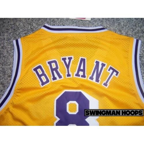 56cca59ca Kobe Bryant Los Angeles Lakers No.8 Hardwood Classics Jerseys