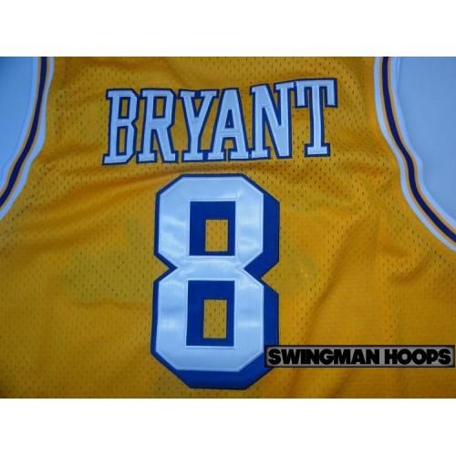 c5d2a7b84 Kobe Bryant Los Angeles Lakers No.8 1960 s Throwback Hardwood Classics  Jerseys