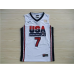 1992 USA Dream Team White Jerseys