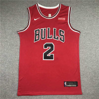 *Lonzo Ball Chicago Bulls Red Jersey