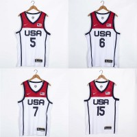 **Team USA Tokyo 2020 Olympics White Jersey