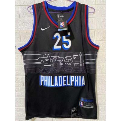 *Ben Simmons Philadelphia 76ers 2020-21 City Edition Jersey