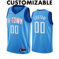 *Houston Rockets 2020-21 City Edition Customizable Jersey