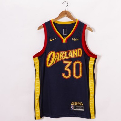 *Stephen Curry 2020-21 Golden State Warriors City Edition Jersey