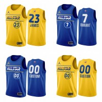 *2021 All Star Game Jerseys - Heat Applied Versions - Any Name & Number