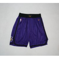 Los Angeles Lakers 2018-19 City Edition Shorts