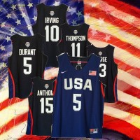 2016 USA Basketball Blue Jerseys