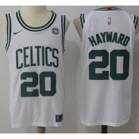 Gordon Hayward Boston Celtics White 2017-18 NBA X Nike Swingman Jersey
