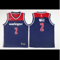 John Wall Washington Wizards Blue 2017-18 NBA X Nike Swingman Jersey