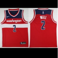 John Wall Washington Wizards Red 2017-18 NBA X Nike Swingman Jersey