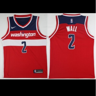 John Wall Washington Wizards Red 2017-18 NBA X Nike Swingman Jersey