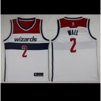 John Wall Washington Wizards White 2017-18 NBA X Nike Swingman Jersey