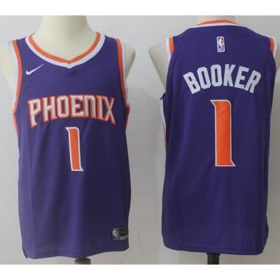 Devin Booker Phoenix Suns Purple 2017-18 NBA X Nike Swingman Jersey