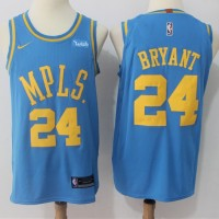 Kobe Bryant Los Angeles Lakers MPLS 2017-18 NBA X Nike Swingman Jersey