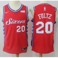 Markelle Fultz Philadelphia 76ers Red 2017-18 NBA X Nike Swingman Jersey