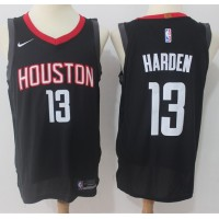 James Harden Houston Rockets Black 2017-18 NBA X Nike Swingman Jersey