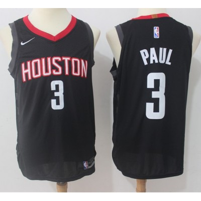 Chris Paul Houston Rockets Black 2017-18 NBA X Nike Swingman Jersey