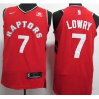 Kyle Lowry Toronto Raptors Red 2017-18 NBA X Nike Swingman Jersey