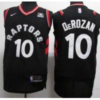 DeMar DeRozan Toronto Raptors Black 2017-18 NBA X Nike Swingman Jersey