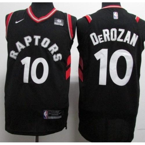 DeMar DeRozan Toronto Raptors Black 2017-18 NBA X Nike Swingman Jersey d9fb54e15
