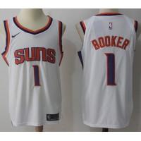 Devin Booker Phoenix Suns White 2017-18 NBA X Nike Swingman Jersey