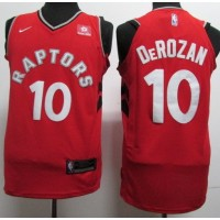 DeMar DeRozan Toronto Raptors Red 2017-18 NBA X Nike Swingman Jersey