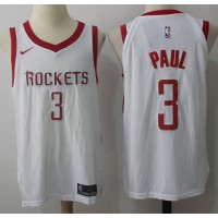 Chris Paul Houston Rockets White 2017-18 NBA X Nike Swingman Jersey