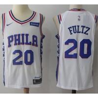 Markelle Fultz Philadelphia 76ers White 2017-18 NBA X Nike Swingman Jersey