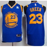Draymond Green Golden State Warriors Blue 2017-18 NBA X Nike Swingman Jersey
