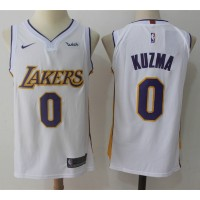 Kyle Kuzma Los Angeles Lakers White 2017-18 NBA X Nike Swingman Jersey