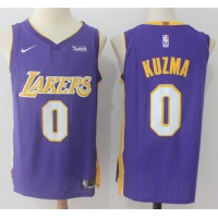 Kyle Kuzma Los Angeles Lakers Purple 2017-18 NBA X Nike Swingman Jersey