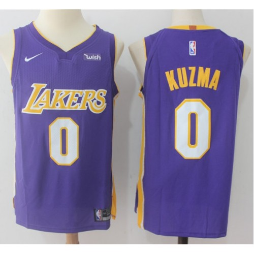 Kyle Kuzma Los Angeles Lakers Purple 2017-18 NBA X Nike Swingman Jersey d16cddafa