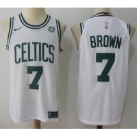 Jaylen Brown Boston Celtics White 2017-18 NBA X Nike Swingman Jersey
