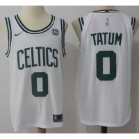 Jayson Tatum Boston Celtics White 2017-18 NBA X Nike Swingman Jersey