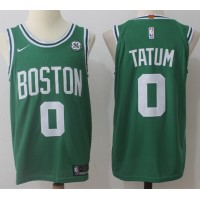 Jayson Tatum Boston Celtics Green 2017-18 NBA X Nike Swingman Jersey