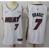 Goran Dragic Miami Heat White 2017-18 NBA X Nike Swingman Jersey