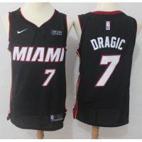 Goran Dragic Miami Heat Black 2017-18 NBA X Nike Swingman Jersey
