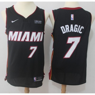 Goran Dragic Miami Heat Black 2017-18 NBA X Nike Swingman Jersey