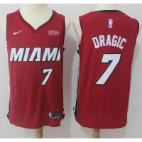 Goran Dragic Miami Heat Red 2017-18 NBA X Nike Swingman Jersey