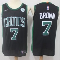 Jaylen Brown Boston Celtics Black 2017-18 NBA X Nike Swingman Jersey