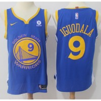 Andre Iguodala Golden State Warriors Blue 2017-18 NBA X Nike Swingman Jersey