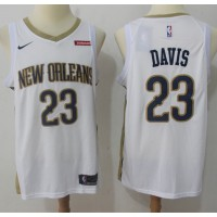 Anthony Davis New Orleans Pelicans White 2017-18 NBA X Nike Swingman Jersey