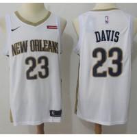 Anthony Davis New Orleans Pelicans White 2017-18 NBA X Nike Swingman Jersey