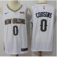 DeMarcus Cousins New Orleans Pelicans White 2017-18 NBA X Nike Swingman Jersey