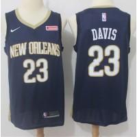 Anthony Davis New Orleans Pelicans Blue 2017-18 NBA X Nike Swingman Jersey